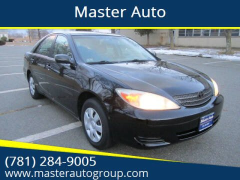 2003 Toyota Camry for sale at Master Auto in Revere MA