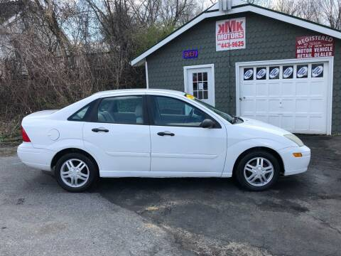 2003 Ford Focus for sale at KMK Motors in Latham NY