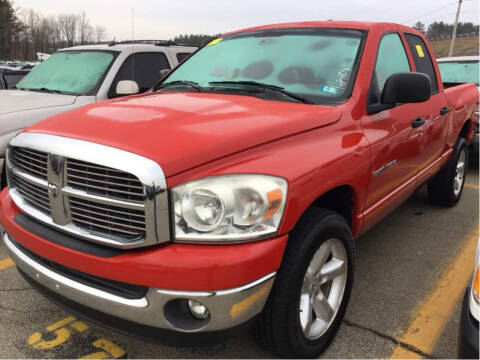 2007 Dodge Ram Pickup 1500 for sale at Irving Auto Sales in Whitman MA