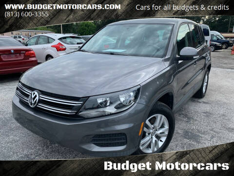 2012 Volkswagen Tiguan for sale at Budget Motorcars in Tampa FL