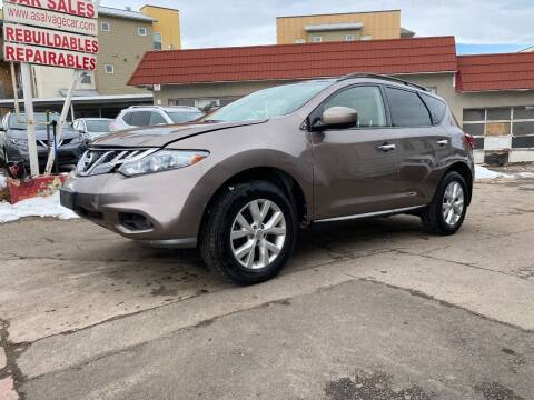 2012 Nissan Murano for sale at STS Automotive in Denver CO