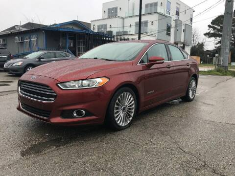 2014 Ford Fusion Hybrid for sale at Saipan Auto Sales in Houston TX