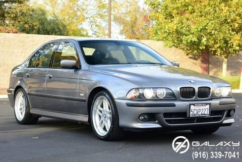 2003 BMW 5 Series for sale at Galaxy Autosport in Sacramento CA