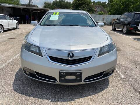 2012 Acura TL for sale at SOUTHWAY MOTORS in Houston TX