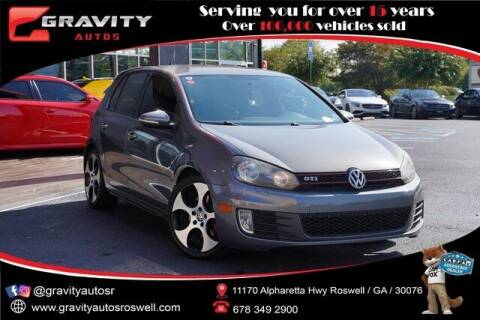 2013 Volkswagen GTI for sale at Gravity Autos Roswell in Roswell GA