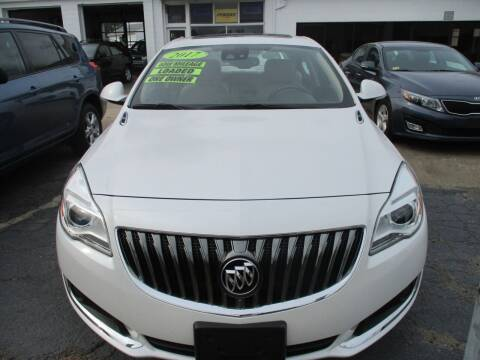 2017 Buick Regal for sale at AUTO FACTORY INC in East Providence RI