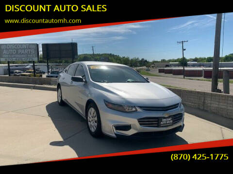 2016 Chevrolet Malibu for sale at DISCOUNT AUTO SALES in Mountain Home AR