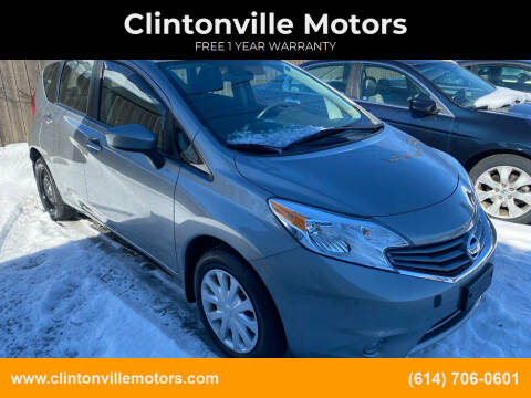 2015 Nissan Versa Note for sale at Clintonville Motors in Columbus OH