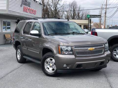 2013 Chevrolet Tahoe for sale at Jarboe Motors in Westminster MD