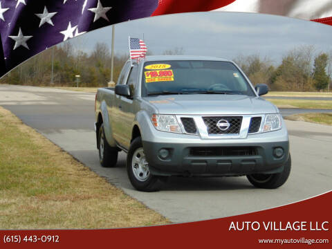 2018 Nissan Frontier for sale at AUTO VILLAGE LLC in Lebanon TN