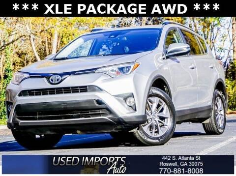 2018 Toyota RAV4 Hybrid for sale at Used Imports Auto in Roswell GA