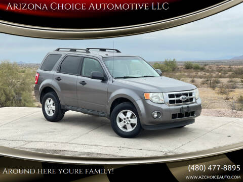 2010 Ford Escape for sale at Arizona Choice Automotive LLC in Mesa AZ