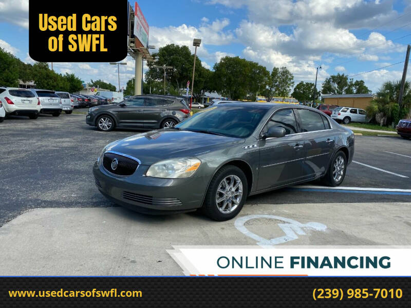 2006 Buick Lucerne for sale at Used Cars of SWFL in Fort Myers FL