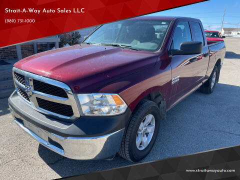 2018 RAM Ram Pickup 1500 for sale at Strait-A-Way Auto Sales LLC in Gaylord MI