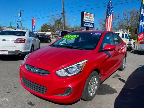 2016 Hyundai Accent for sale at Cars for Less in Phenix City AL