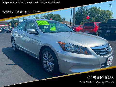 2012 Honda Accord for sale at Valpo Motors 1 and 2  Best Deals On Quality Wheels in Valparaiso IN