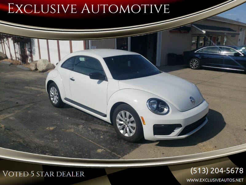 2017 Volkswagen Beetle for sale at Exclusive Automotive in West Chester OH