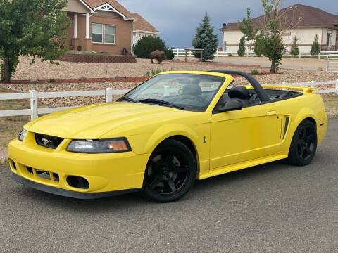 2001 Ford Mustang SVT Cobra for sale at Zapp Motors in Englewood CO