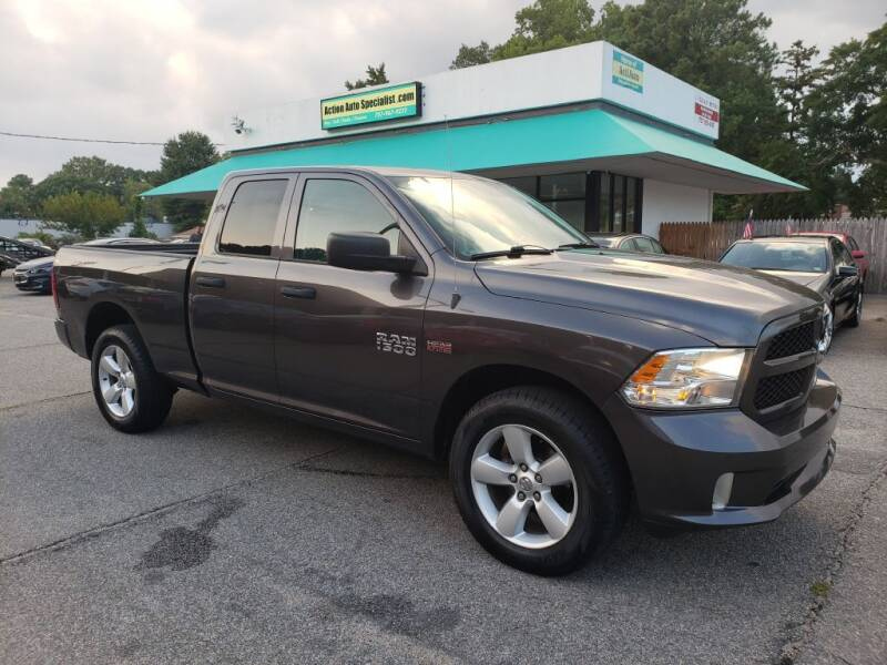 2015 RAM Ram Pickup 1500 for sale at Action Auto Specialist in Norfolk VA