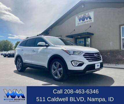2015 Hyundai Santa Fe for sale at Western Mountain Bus & Auto Sales in Nampa ID