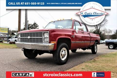1983 Chevrolet C/K 30 Series for sale at St. Croix Classics in Lakeland MN