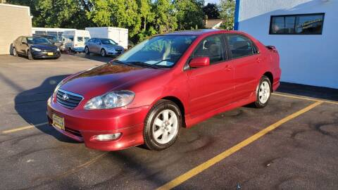 2005 Toyota Corolla for sale at Appleton Motorcars Sales & Service in Appleton WI