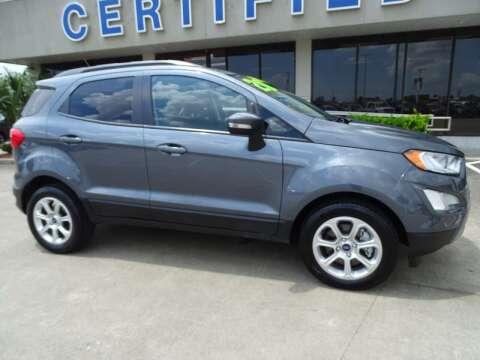2020 Ford EcoSport for sale at Mac Haik Ford Pasadena in Pasadena TX