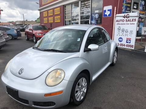 2008 Volkswagen New Beetle for sale at 4 Girls Auto Sales in Houston TX