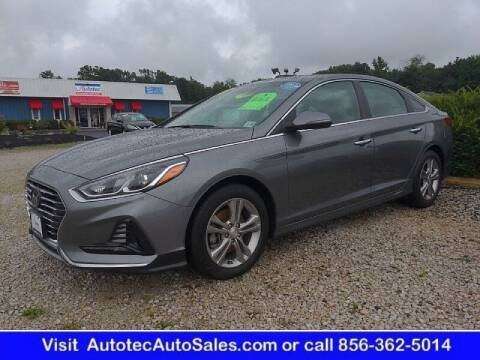 2018 Hyundai Sonata for sale at Autotec Auto Sales in Vineland NJ