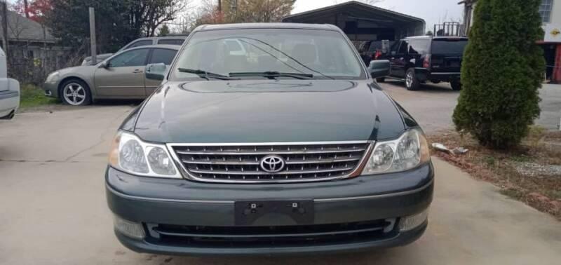 2003 Toyota Avalon for sale at Shoals Dealer LLC in Florence AL