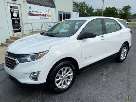 2018 Chevrolet Equinox for sale at Huggins Auto Sales in Ottawa OH