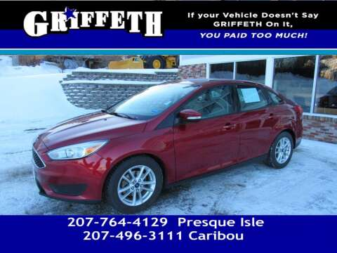 2016 Ford Focus for sale at Griffeth Mitsubishi - Pre-owned in Caribou ME