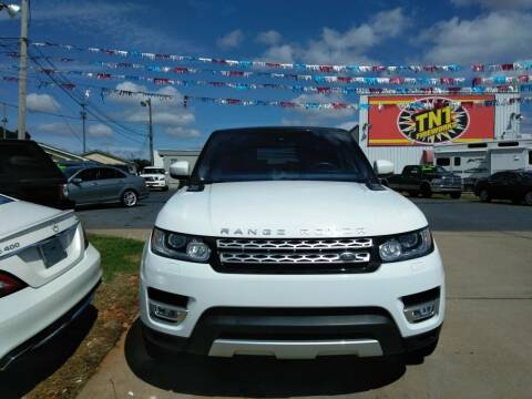 2016 Land Rover Range Rover Sport for sale at AUTOPLEX 528 LLC in Huntsville AL