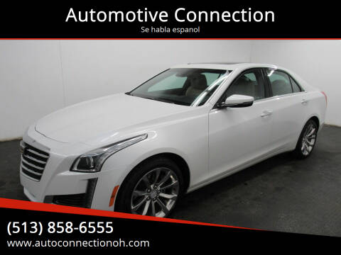 2017 Cadillac CTS for sale at Automotive Connection in Fairfield OH