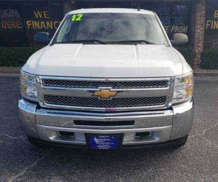 2012 Chevrolet Silverado 1500 for sale at Greenville Motor Company in Greenville NC