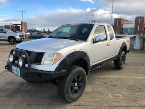 2006 Nissan Frontier for sale at Rave Auto Sales in Corvallis OR