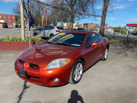 2008 Mitsubishi Eclipse for sale at Midtown Autoworld LLC in Herkimer NY