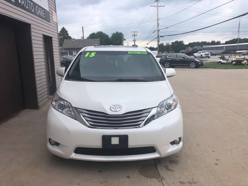 2015 Toyota Sienna for sale at Auto Import Specialist LLC in South Bend IN