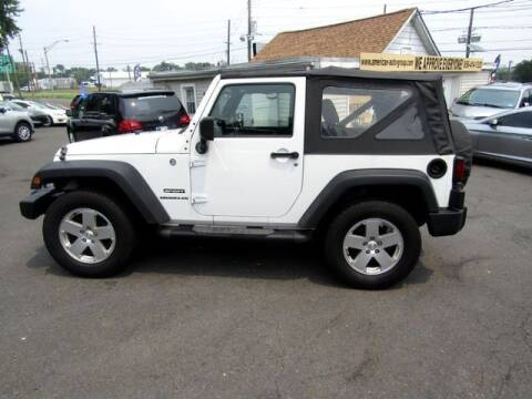 2013 Jeep Wrangler for sale at American Auto Group Now in Maple Shade NJ