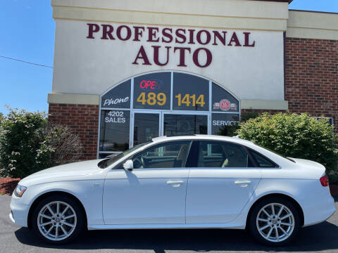 2015 Audi A4 for sale at Professional Auto Sales & Service in Fort Wayne IN