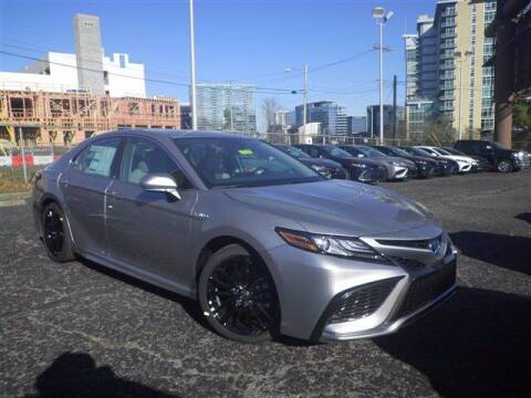 2021 Toyota Camry Hybrid for sale at BEAMAN TOYOTA GMC BUICK in Nashville TN