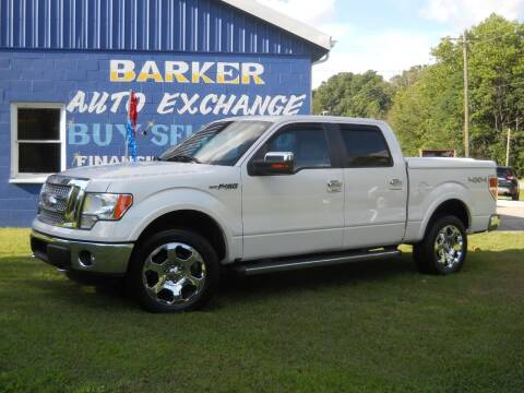 2011 Ford F-150 for sale at BARKER AUTO EXCHANGE in Spencer IN