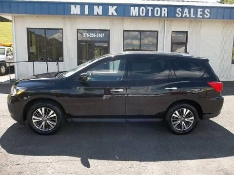 2019 Nissan Pathfinder for sale at MINK MOTOR SALES INC in Galax VA