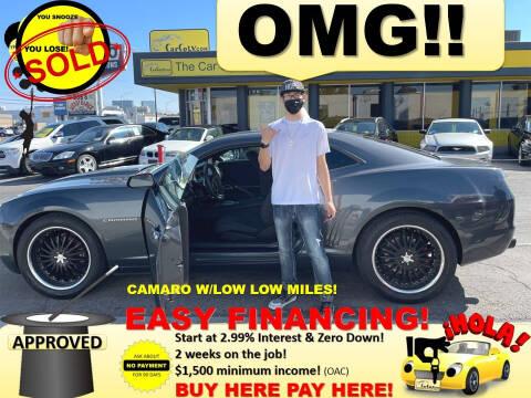 2010 Chevrolet Camaro for sale at The Car Company in Las Vegas NV