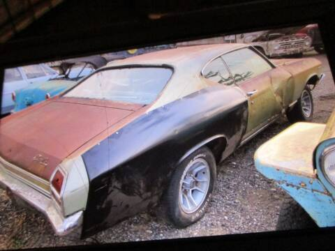 1969 Chevrolet Chevelle for sale at Marshall Motors Classics in Jackson Michigan MI