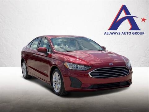 2019 Ford Fusion Hybrid for sale at ATASCOSA CHRYSLER DODGE JEEP RAM in Pleasanton TX