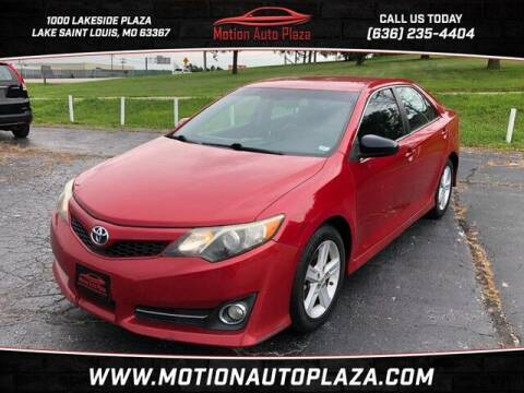2012 Toyota Camry for sale at Motion Auto Plaza in Lakeside MO
