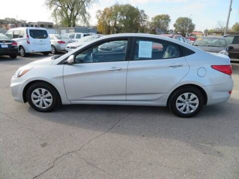 2017 Hyundai Accent for sale at Jefferson St Motors in Waterloo IA
