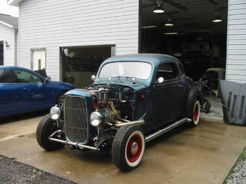 1937 Desoto Coupe for sale at Classic Car Deals in Cadillac MI