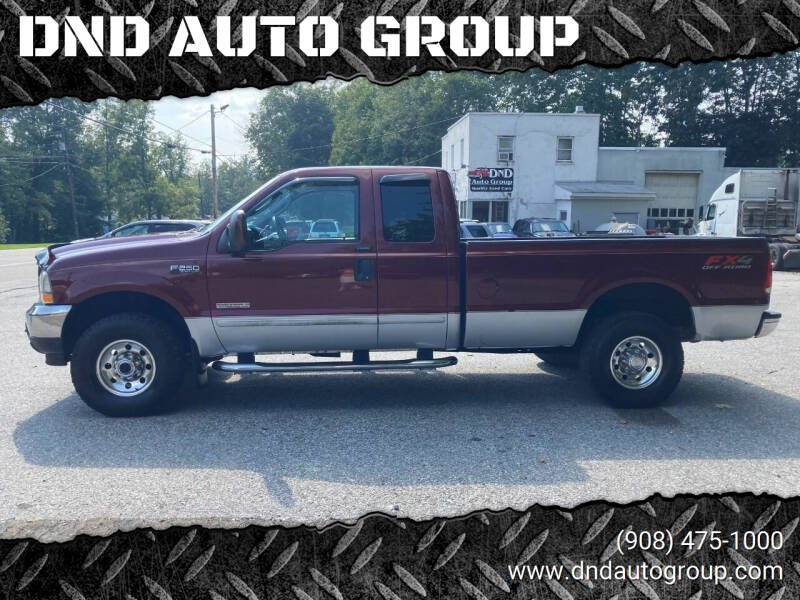 2004 Ford F-250 Super Duty for sale at DND AUTO GROUP in Belvidere NJ